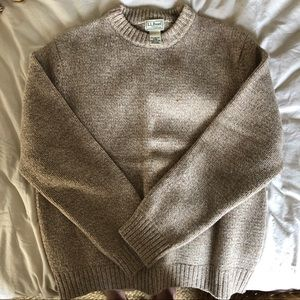 L.L.Bean Lambswool Sweater